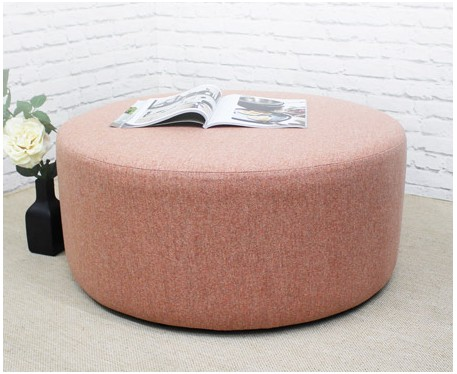 Large Drum Pouffe