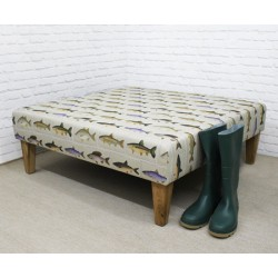 Upholstered Footstools Footstool Coffee Table Square Table