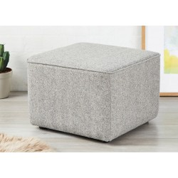 SALE Bakerloo Piped : Short Cube Footstool with piping