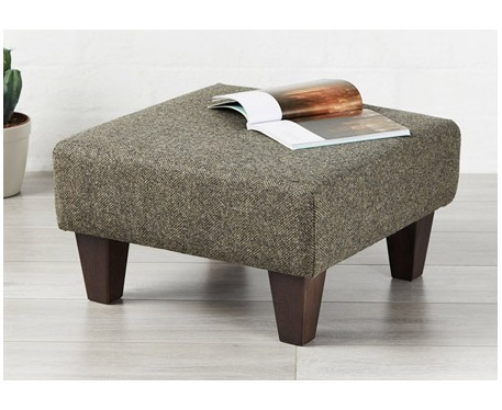 Franklin : Small Square Footstool