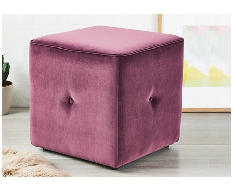 Large Buttoned Cube