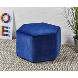 Spencer Short : Short Hexagonal Footstool