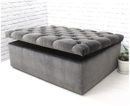 Lexington DEEP Storage : Deep Buttoned Storage Ottoman