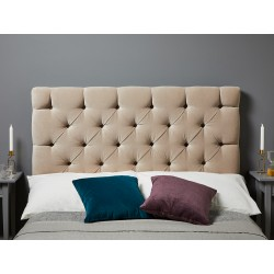 Olivia Single Short : Short Deep Buttoned Headboard