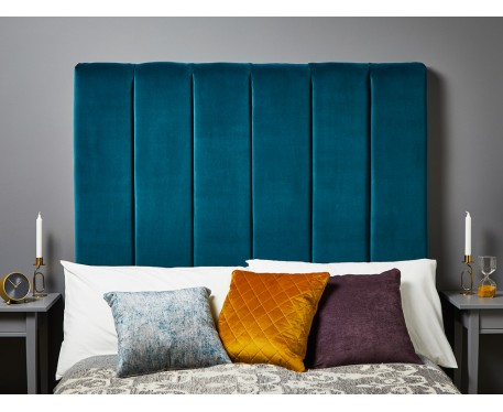 Archie Double Tall : Tall Vertical Padded Headboard