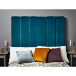 Archie Emperor Tall : Tall Vertical Padded Headboard