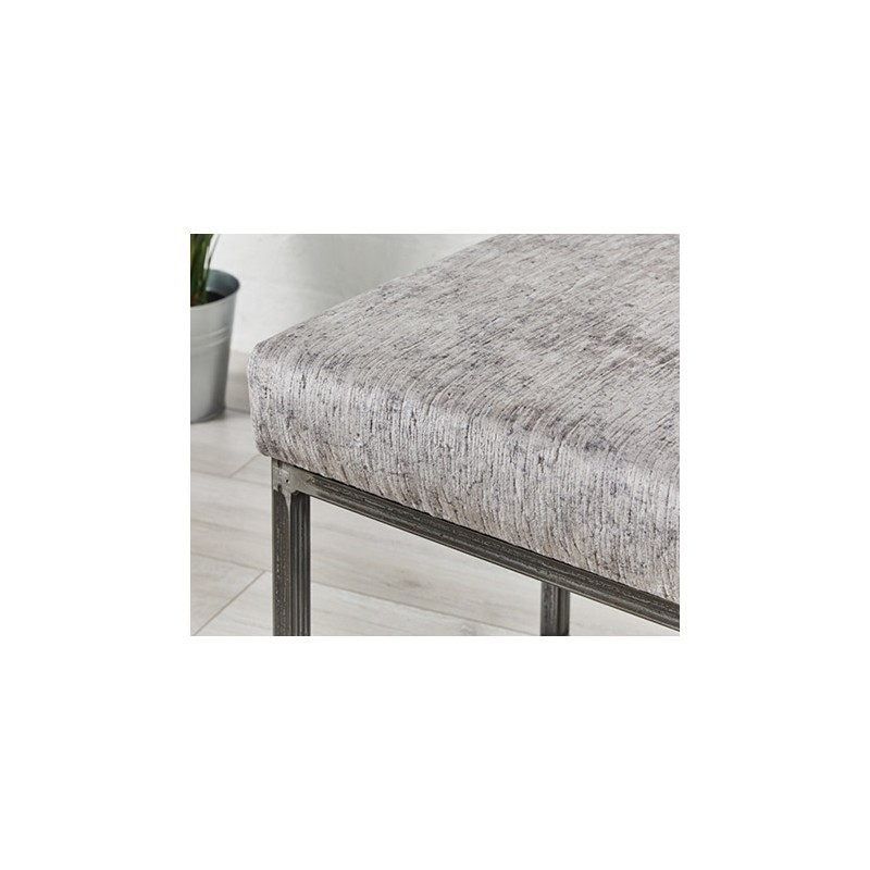 Sale Frankfurt Plain Metal Bench Footstools Amp More