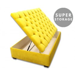 Terrific Lexington Super Storage Extra Large Buttoned Storage Ottoman Pdpeps Interior Chair Design Pdpepsorg