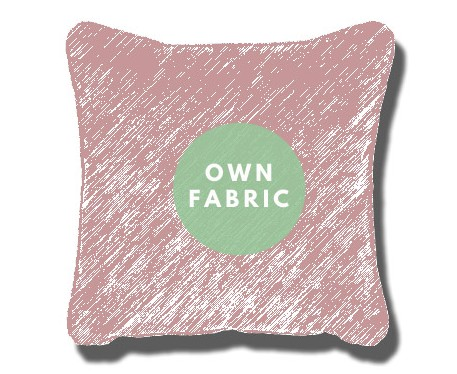 Own Fabric Cushions : Square Piped Cushion