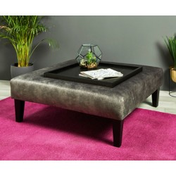 Armitage : Large Square Coffee Table Stool