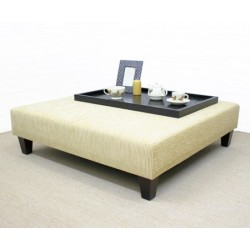 Large Square Coffee Table Stool