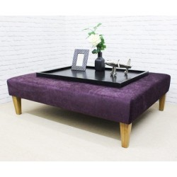 Large Rectangular Coffee Table Stool
