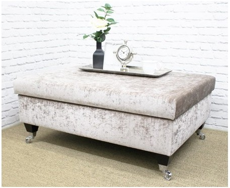 Incredible Kensington Storage Rectangular Storage Ottoman Short Links Chair Design For Home Short Linksinfo