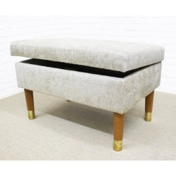 Deep Plain Storage Bench  sc 1 st  Footstools u0026 Storage & Storage Footstools | Large Ottoman with Storage Stool in UK ... islam-shia.org