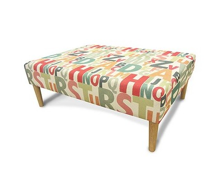 Small Rectangular Coffee Table Stool