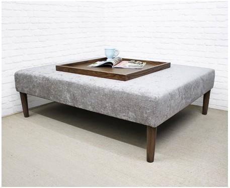 Heritage Large Rectangular Coffee Table Stool