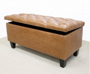 Leather Footstools  sc 1 th 203 : foot stool with storage - islam-shia.org