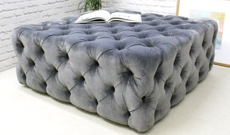 Pouffes and Buttoned pouffes