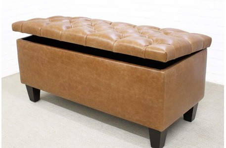 Many Of Our Customers Choose To Buy Leather Footstools Online